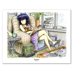 Miho's Good End 11 X 14 inch Fine Art Print