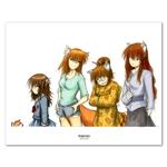 Sawatari Family Values 11 X 14 inch Fine Art Print