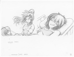Original Megatokyo Pencil Drawing: Comic 1559, Chapter 12, Ep 121, sheet A