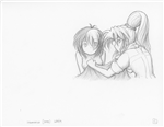 Original Megatokyo Pencil Drawing: Comic 1559, Chapter 12, Ep 121, sheet C