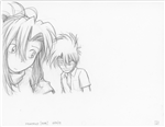 Original Megatokyo Pencil Drawing: Comic 1559, Chapter 12, Ep 121, sheet D