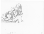 Original Megatokyo Pencil Drawing: Comic 1559, Chapter 12, Ep 121, sheet E