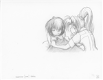 Original Megatokyo Pencil Drawing: Comic 1559, Chapter 12, Ep 121, sheet F