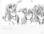 Original Megatokyo Pencil Drawing: Comic 1564, Chapter 12, Ep 127, sheet A