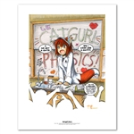 Frustrations of a Foxgirl Biology Teacher 11 X 14 inch Fine Art Print