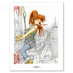 Erika - Towerclimbing (Color) 11 X 14 inch Fine Art Print
